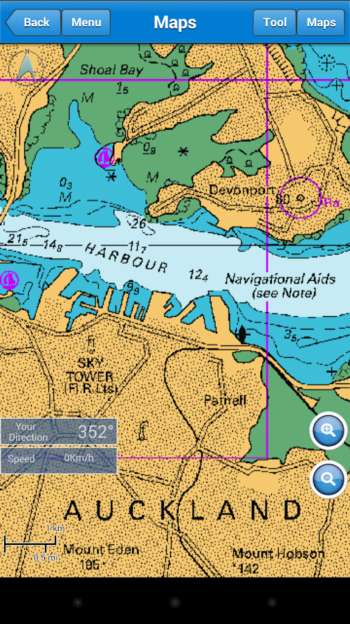 Marine Navigation - screenshot