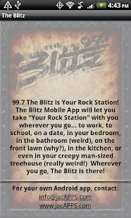 99.7 The Blitz – WRKZ - screenshot thumbnail