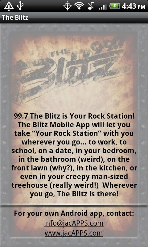 99.7 The Blitz – WRKZ- screenshot