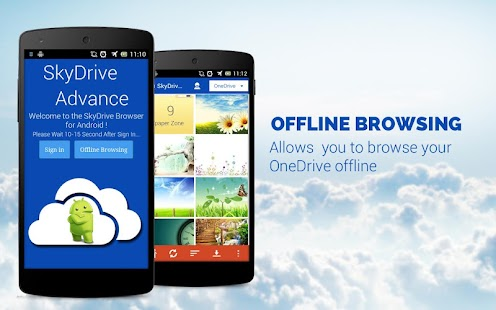 OneDrive Advance (SkyDrive) - screenshot thumbnail