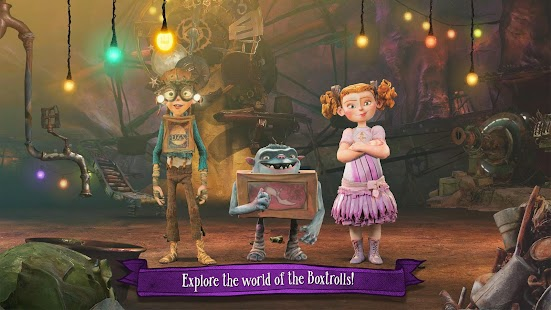 The Boxtrolls: Slide 'N' Sneak Screenshot 15