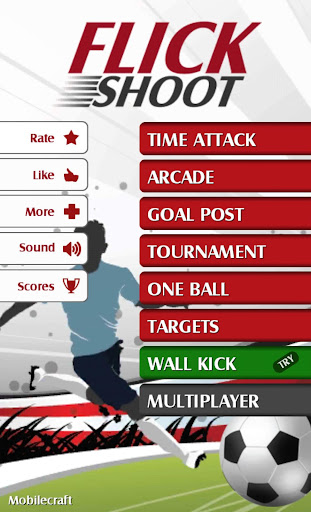 Flick Shoot (Soccer Football) screenshot