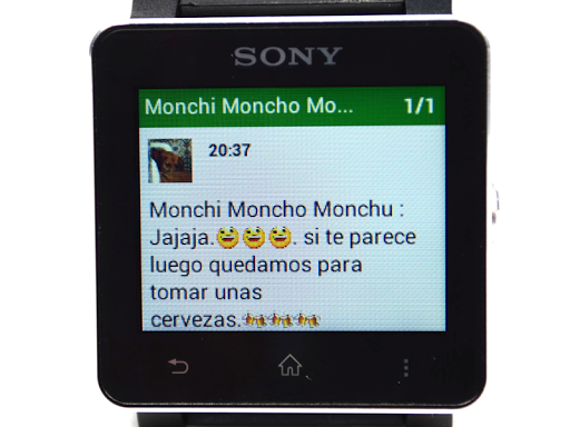 SmartWatch - Sony Xperia (Global Traditional TW Chinese)