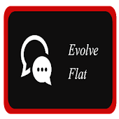 Evolve Flat Dark Headers