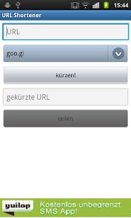URL Shortener - screenshot thumbnail