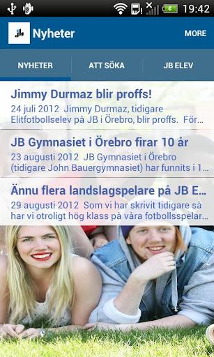 JB Gymnasiet Örebro