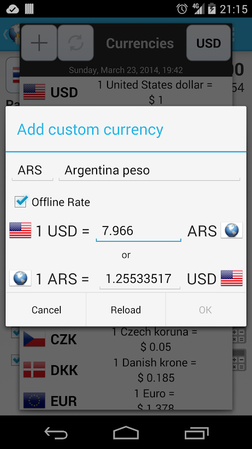 Travel Money - Share Expenses - screenshot