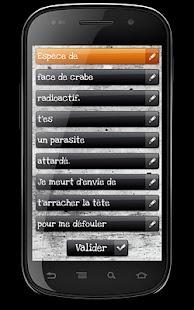 Générateur d'insultes- screenshot thumbnail