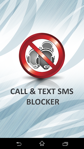 Call and Text SMS Blocker Pro