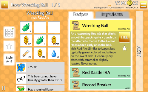 Fiz : Brewery Management Game - screenshot thumbnail