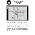 Metro Map - Sao Paulo - Brazil icon