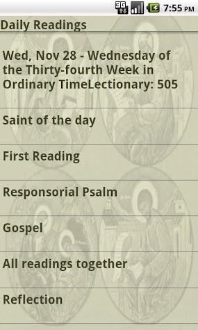 Laudate - #1 Free Catholic App Screenshot