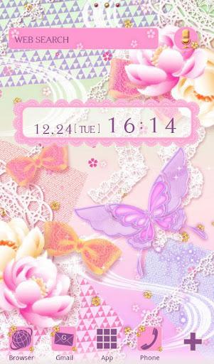 Cute Wallpaper Lacy Butterfly 1.1 Windows u7528 1