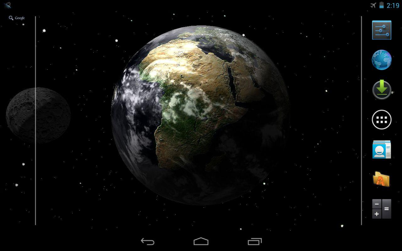 Earth Live Wallpaper- screenshot