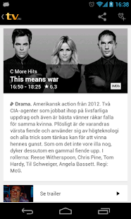 tv.nu - screenshot thumbnail