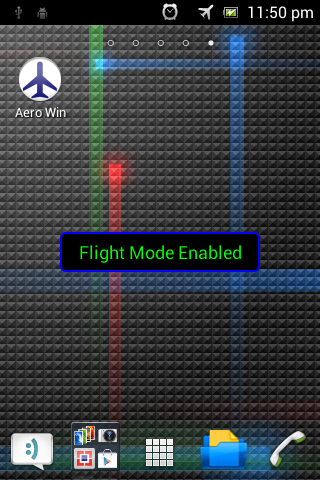 Flight Mode Toggler