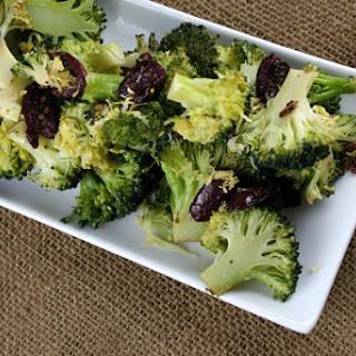 Broccoli with Black Olives, Garlic and Lemon
