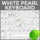 White Pearl Keyboard
