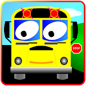 School Bus Kids Games Puzzles