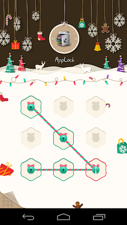 AppLock Theme Xmas & New Year 1.1 screenshot 6249