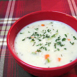 Creamy Chicken and Rice Soup Recipe
