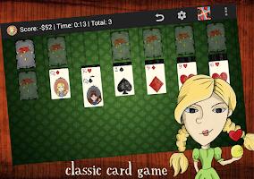 Screenshot of Play Klondike Solitaire