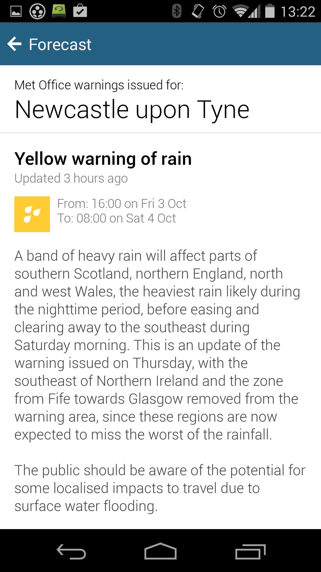 BBC Weather screenshot #7