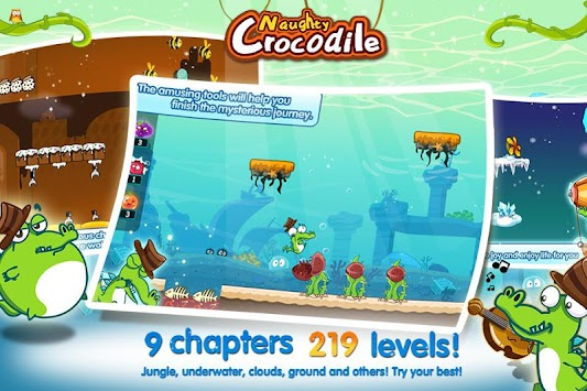 Naughty Crocodile apk screenshot