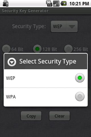 Security Key Generator- screenshot