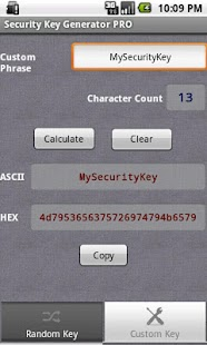 Security Key Generator PRO - screenshot thumbnail