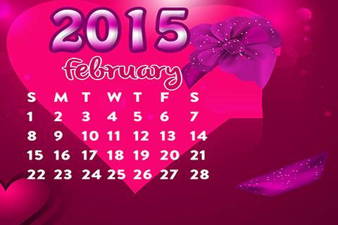Calendar Months 2015 Frames