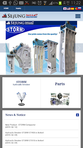 SEJUNG PARTS MACHINERY