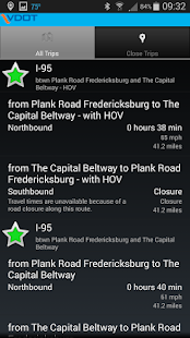 VDOT 511 Virginia Traffic - screenshot thumbnail