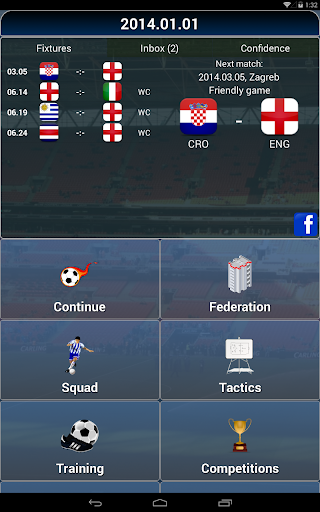 True Football National Manager 1.4.6 screenshots 9