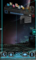 Screenshot of Robotech Next Launcher Theme