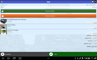 Screenshot of Sales on the Move (Free CRM)