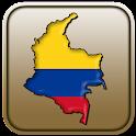 Mapa de Colombia icon