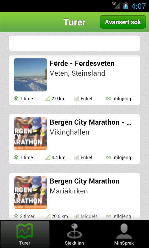 BT Sprek - screenshot