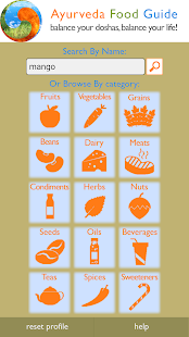 Ayurveda Food Guide- screenshot thumbnail
