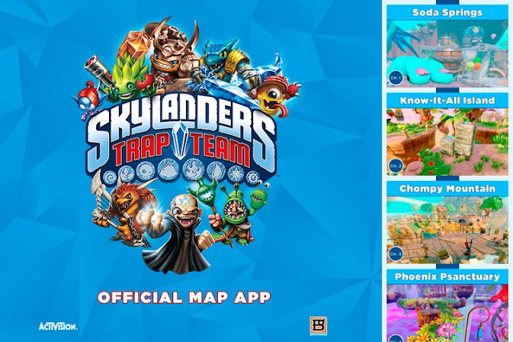 skylanders trap team tablet app