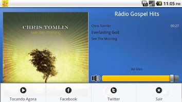 Screenshot of Rádio Gospel Hits