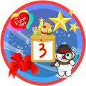 Christmas Sticker Widget Third logo