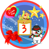 Christmas Sticker Widget Third