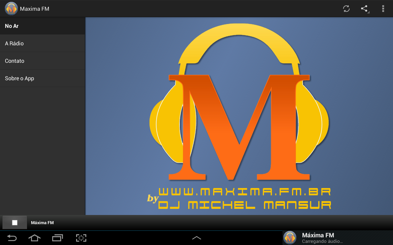 Maxima FM- screenshot