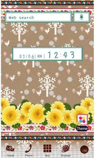 Cute Theme Country Marigold 1.1 Windows u7528 1