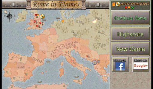 Strategy Rome in Flames v1.25