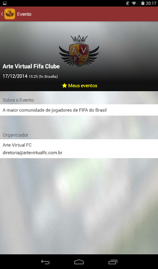 Arte Virtual FC- screenshot