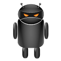 ADW Droid Moonglow (Orange) icon