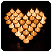 Love Candles Live Wallpaper