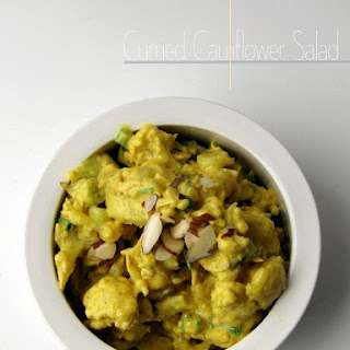 Curried Cauliflower Salad